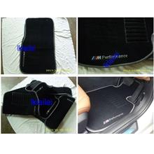 BMW 3 Series F30 `12 Carpet Mat Black Colour [5pcs/set]