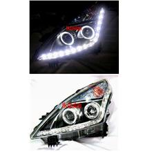 Nissan Teana '09-12 Projector Head Lamp LED DRL R8