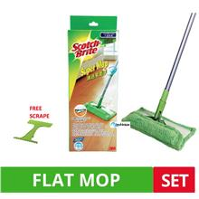 Scotch-Brite Super Cleaning Mop with Scrapper Extra Refill Sweeper