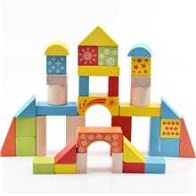 Baby Kids Wooden Building Blocks Puzzle Toy