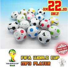 FIFA World Cup MP3 Players ! Micro SD Card slot available