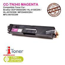 Brother TN310 / TN340 Magenta Grade-A Compatible Toner (Single Unit)