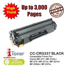 Canon 337 CRG337 High Yield 3K Pages Grade-A Compatible Toner