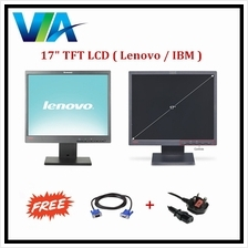 Refurb 17  LCD TFT Monitor PC Screen, 17 inch LENOVO IBM c743cde8d264