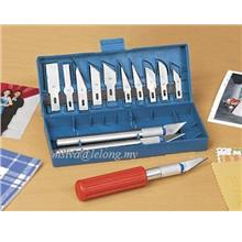 NEW 13 pcsHOBBY / CRAFTS MULTI BLADE KNIFE SET.Must Have