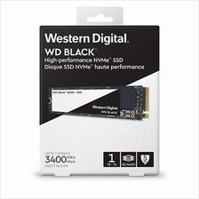 WESTERN DIGITAL M.2 PCIE NVME BLACK 1TB SSD (WDS100T2X0C)