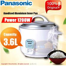 Panasonic Conventional Rice Cooker 3.6L SR-WN36 (White)
