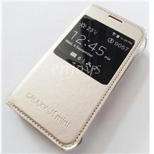 GOLD S View Flip Cover Hard Case Samsung Galaxy J1 Mini /J105B *XPD