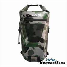 Hypergear Back Pack Dry Pac Tough 20 Liter - CAMO GREEN DELTA