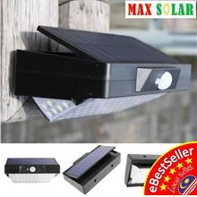 78 LED Max Solar Power PIR Motion Sensor Outdoor Wall Garden Light