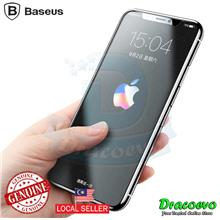 Baseus Tempered Glass Matte Anti Fingerprint 9H Film For iPhone X