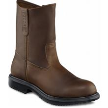 Safety Shoes Red Wing Men High Cut 9Inch Brown Pecos EH ST 8242 FOC De