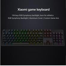 Xiaomi original 7 rainbow changing color gaming mechanical keyboard