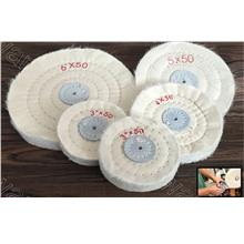 Cotton Buffing Polishing Wheel 3in 4in 6in 8in (CBWOS)