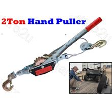 Double Gear Ratcheting Hand Winch Puller 2Ton 2Hook (HP2T2H)