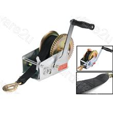 Heavy Duty Smooth Operate Synthetic Strap Belt Hand Winch (HWSOS)