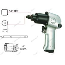 KI 2IN1 1/4' HEX & 1/2'DR MINI IMPACT WRENCH (KI411JHS)