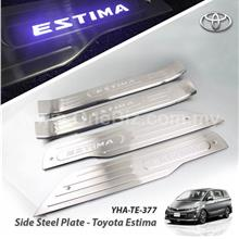 Toyota Estima - Side Steel Plate with Blue / White LED - YHA-TE-377
