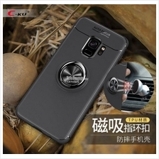 SAMSUNG Galaxy Note 9 360 Magnetic Rotating TPU RING Case