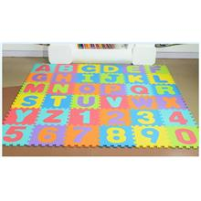 Happy Kids 36PCS Colourful Puzzle ABC Play Mat Crawling Foam