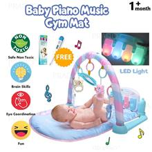 Colourful Kids Soft Fabric Musical Piano Toy LED Light Baby Play Mat