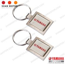 Yamaha Apparel - Keychain Yamaha Square Red (2 Pieces) [HLY Yamaha Gen