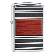 "ZIPPO Pipe Lighter chr. pol. ""Pipe Lighter Steel and Wood"" 2004257 256433"