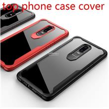 OnePlus 6 1+6 ShakeProof Transparent Back Armor Case Cover Casing