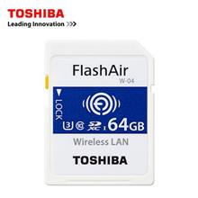 TOSHIBA MicroSDHC C10 FLASH AIR WIFI 64GB (THN-NW04W0640C6)