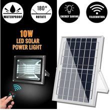 Premium Quality 10W 30W Solar LED Power Garden Flood Light With Remote