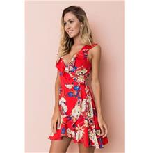 FairyCity Flower Chiffon Sleeveless Dress [Pre-Order] XZTF-A088