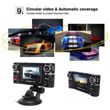 2.7-inch LCD Car DVR Dual Camera Rotated Lens Night Vision Video Recor..