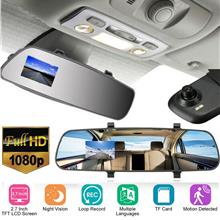 2.7-Inch Full HD 1080P LCD Car Video Recorder Night Vision Vehicle Cam..