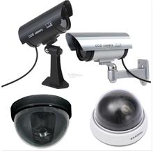 CCTV Dummy Camera Outdoor Indoor Battery Blinking LED Light Durable