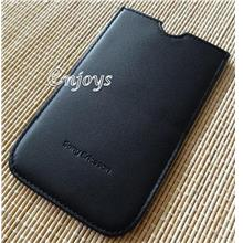 ORI Leather Carry Case Slot in Pouch Sony Ericsson Xperia X10 ~4.0