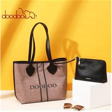 DooDoo 8753 Premium PU Leather Crossbody Shoulder Bag Handbags