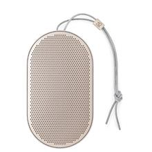 B&O PORTABLE BLUETOOTH BEOPLAY P2 SPEAKER (SAND STONE)