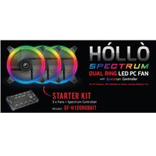 Gaming Freak Hollo Spectrum ADD+ON 2 PCS PACK 12CM CASE (GF-H120RGB2F)