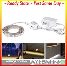 Led Pir Sensor Strip Motion Activated Bed 5050 Light Warm White US Pow