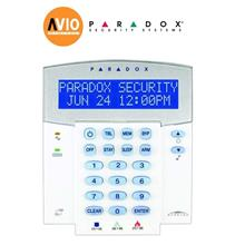 Paradox K32LX Alarm 32 Zone LCD Keypad with built-in Wireless Transcei