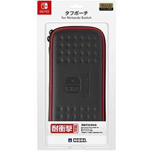 SWITCH HORI TOUGH POUCH BLACK/RED NSW-038 OEM