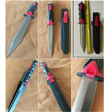 CELLY Diving Knife (Red Handle) (SLL 065)
