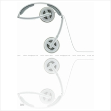 Sennheiser PX 100 II white . Travel Headphones . Foldable . Free S&H