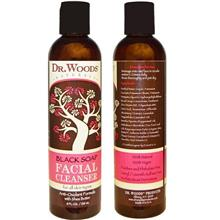 Facial Cleanser Black Soap with shea butter (236 ml) 100% Natural USA