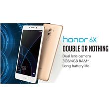 Honor 6X 64GB ROM | 4GB RAM - Original Honor Malaysia Set