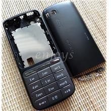 Enjoys: AP ORIGINAL HOUSING for Nokia C3-01 Touch and Type ~BLACK