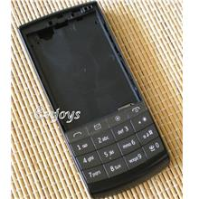 Enjoys: AP ORIGINAL HOUSING Nokia X3-02 Touch and Type ~BLACK ~@@