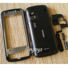 Enjoys: AP ORIGINAL HOUSING Nokia C6 C6-00 ~BLACK ~#FULL SET#