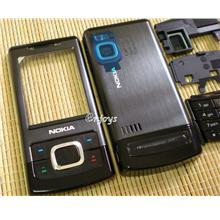 Enjoys: AP ORIGINAL HOUSING Nokia 6500 Slide 6500s ~BLACK~ #FULL SET#