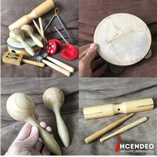 **incendeo** - Music Wooden Percussion Set